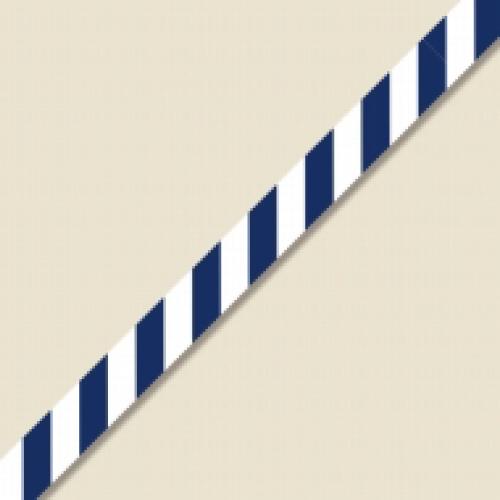 #008750903 シングルワイヤータイ 7mm幅×120mm ストライプ ブルー 30本/s