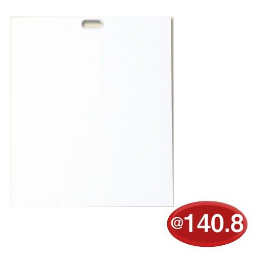 #006659100 手抜きポリ袋 HDポリ ぬいぐるみ用 L 白 20枚/s