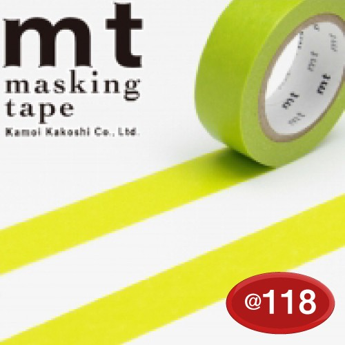 #001603502 マスキングテープ(mt ex) 15mm×10m巻 若苗(わかなえ) 1巻/s