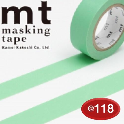 #001603503 マスキングテープ(mt ex) 15mm×10m巻 若緑 1巻/s