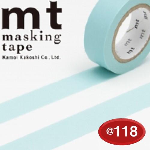 #001603504 マスキングテープ(mt ex) 15mm×10m巻 ベビーブルー 1巻/s