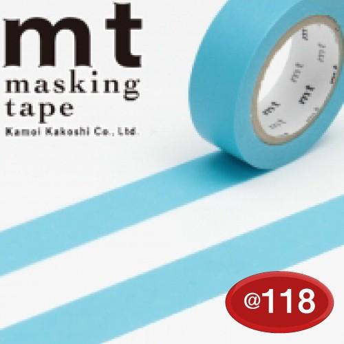 #001603505 マスキングテープ(mt ex) 15mm×10m巻 みず 1巻/s