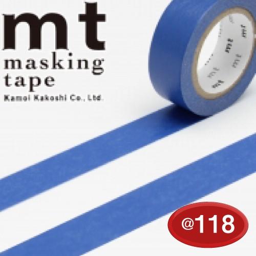 #001603510 マスキングテープ(mt ex) 15mm×10m巻 瑠璃 1巻/s