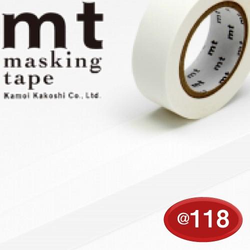#001603521 マスキングテープ(mt ex) 15mm×10m巻 マットホワイト 1巻/s