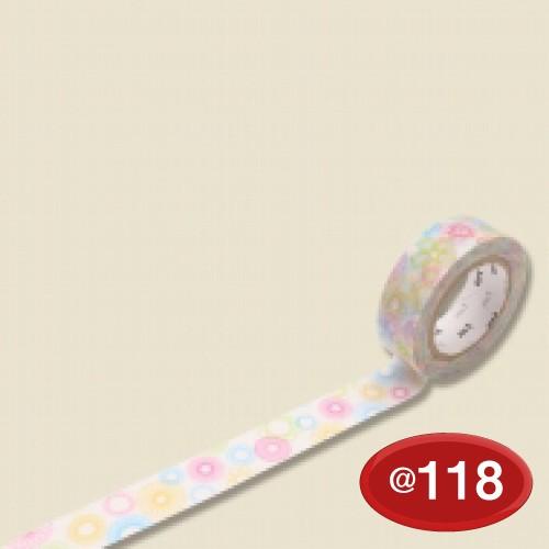 #001603821 マスキングテープ(mt ex) 15mm×10m巻 スピログラフ 1巻/s