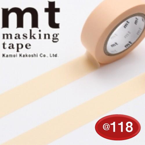 #001603836 マスキングテープ(mt ex) 15mm×10m巻 パステルオレンジ 1巻/s