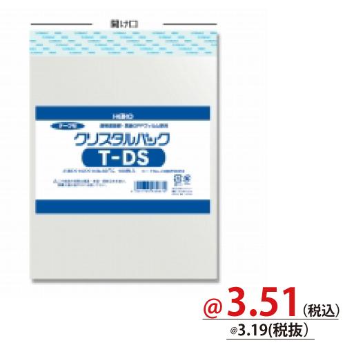 #006753518 クリスタルパックT(テープ付)厚口タイプ メディア用T-DS 100枚/s