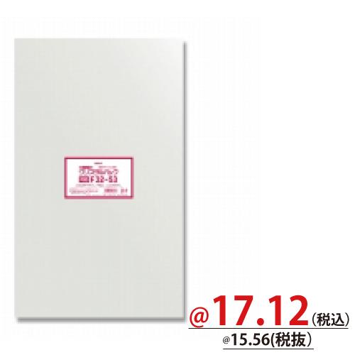 #006752917 OPP袋 クリスタルパック F32-53 (フレームシール) 50枚/s