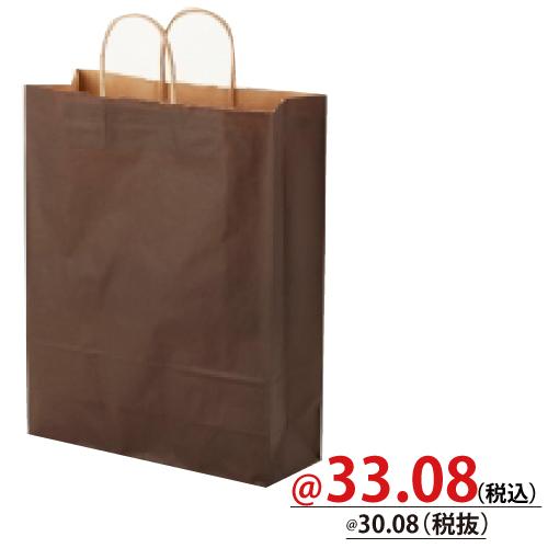 #003201406 紙袋 焦茶C 2才   50枚/s