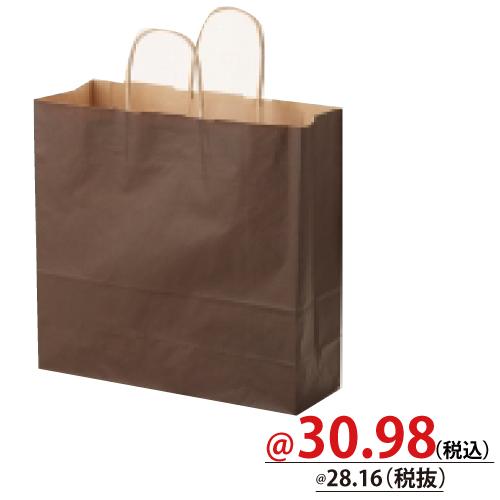 #003251206 紙袋 焦茶C 3才   50枚/s