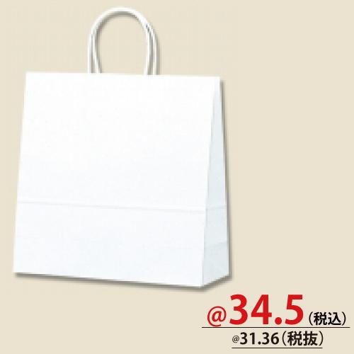 #003250700 紙袋 白無地 25CB 3才  50枚/s