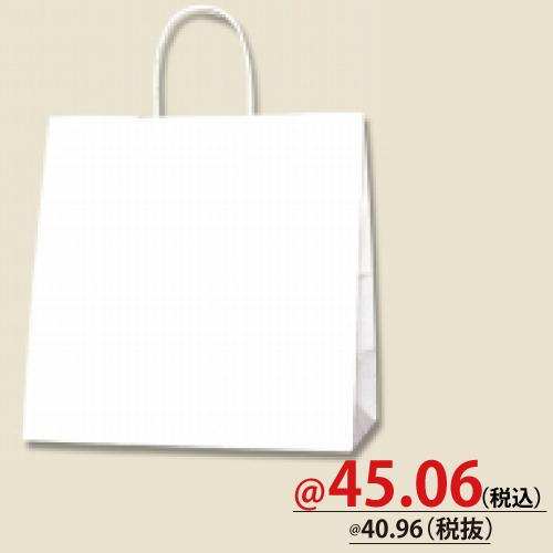 #003270600 紙袋 白無地 25CB W  50枚/s