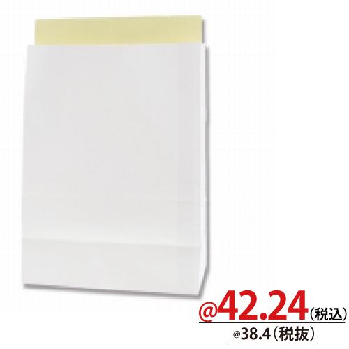#004192421 宅配袋 LL−W 白無地 25枚/s