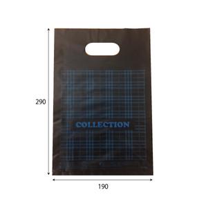 販売袋(黒)柄あり(小)1500枚/s W190×H290