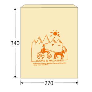 紙袋No.A3婦人誌用(大寸) 1000枚/s