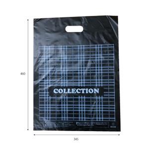 販売袋(黒)柄あり(ジャンボ)1000枚/s W345×H460