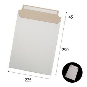 宅配レター封筒B5サイズ白 W225×H290+45 300g 200枚/s