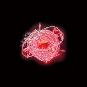 新LEDストリングライト クリアコード レッド