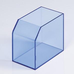 レシート回収BOX(クリアブルー)
