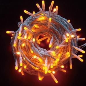 新LEDストリングライト クリアコード オレンジ