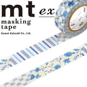 #001603267 マスキングテープ(mt ex) 15mm×10m巻 FlowerDB R 1巻/s