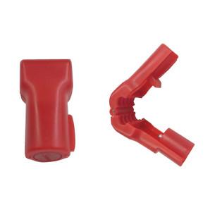 フックロック 直径5mm用(赤) 50個/s