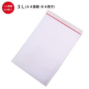 クッション封筒3L(白)#5 W287(267)×H409(407)+40 100枚/s