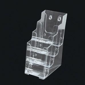 カタログケース A4三ツ折 4段