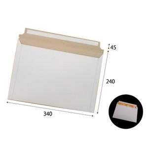 宅配レター封筒A4サイズ白 W340×H240+45 300g 200枚/s