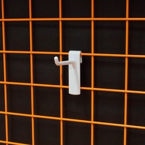 ネット用フック50mm(φ5mm)4mm厚 100個/s