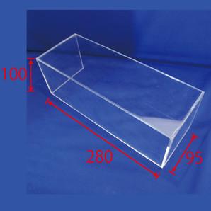 BOXひな段(アクリル) H100 2個/s