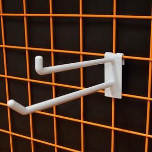 ネット用2段フック85-150mm(4mm厚) 100個/s