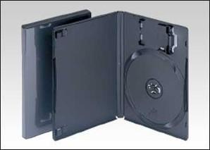 PS2対応トールケース(メモリーカードホルダー付)黒 100枚/s FD1036
