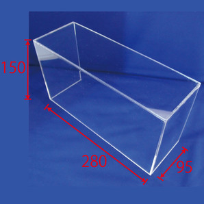 BOXひな段(アクリル)H150 2個/s