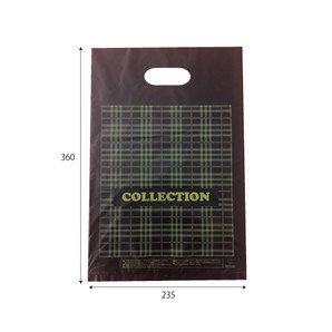 販売袋(黒)柄あり(中)1000枚/s W235×H360