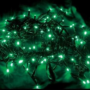 新LEDストリングライト ブラックコード スノーグリーン