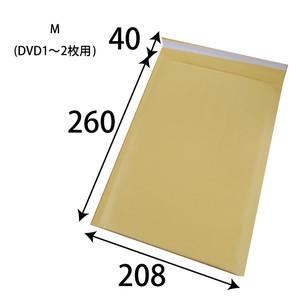 (商品販売終了しました)クッション封筒(茶)小 W208xH260+40 50枚/s