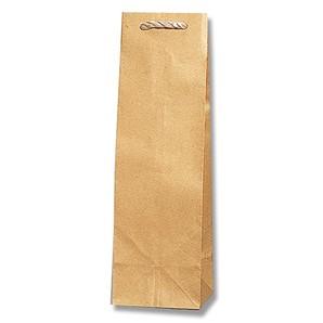 #003190100 紙袋 茶無地 T型 B-1  25枚/s