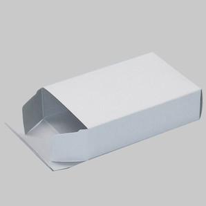 トレカ用紙箱(大)白H70xD30xH106 1000枚/s