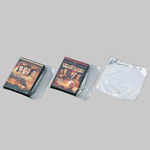軟質シュリンク(DVD1枚用)W220xH200 500枚/s